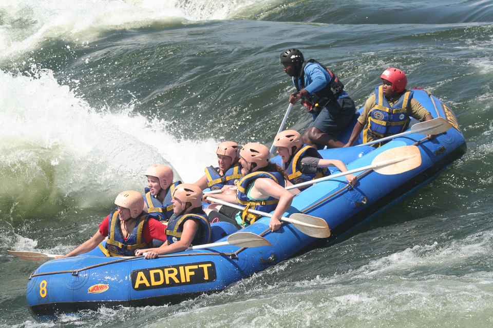 Whitewater Rafting in Uganda